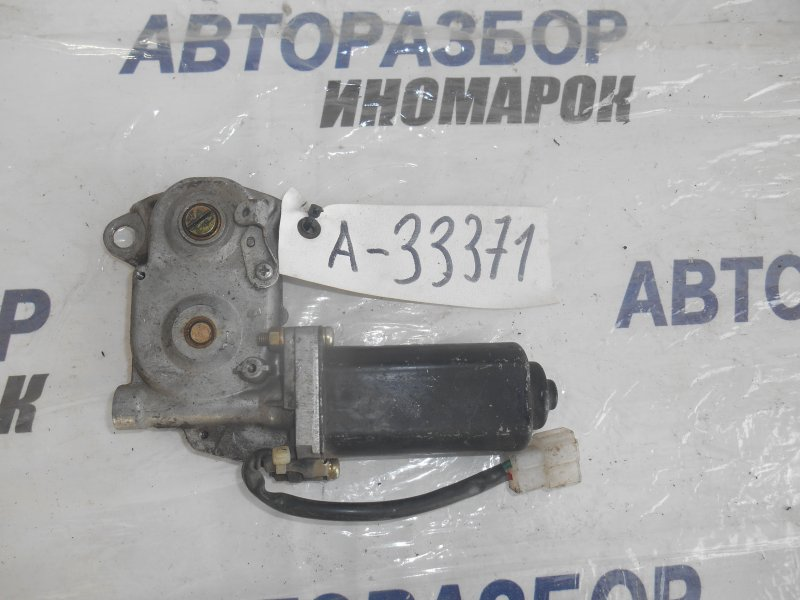 Моторчик привода люка Toyota Camry AE82 передний верхний (б/у)