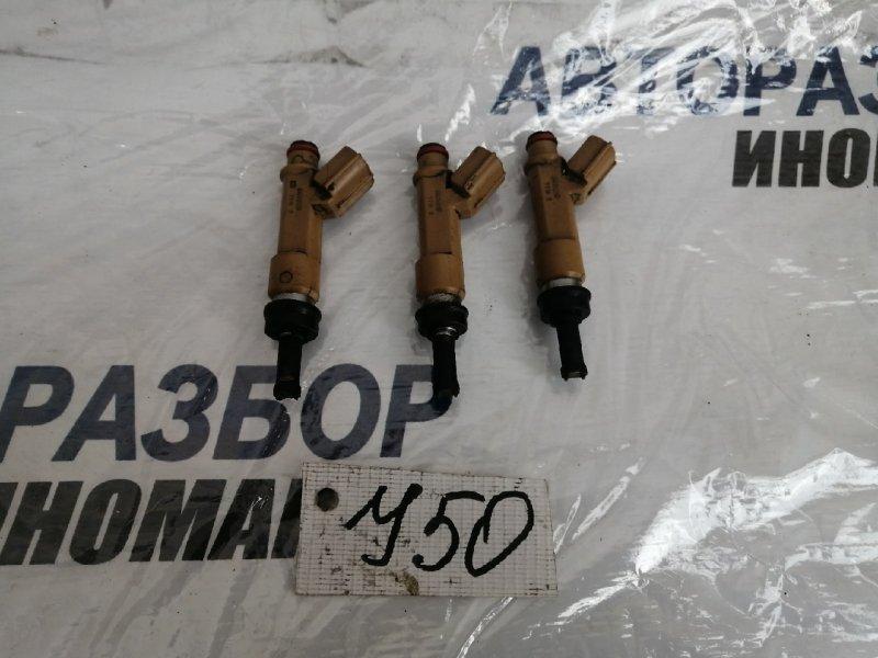 Форсунка топливная Toyota Corolla ADE150 1ZRFE (б/у)