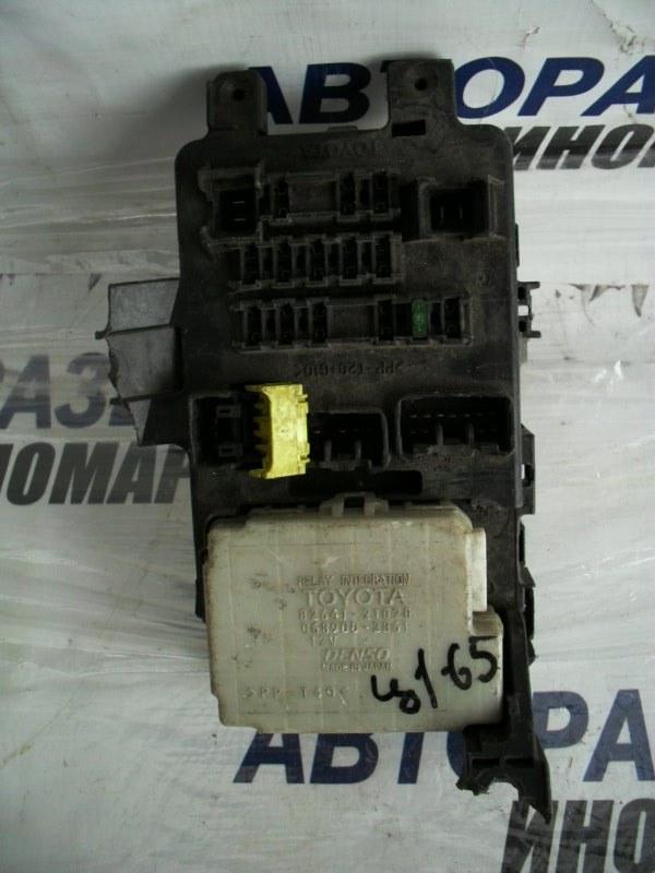 Блок предохранителей, реле Toyota Caldina ST210 передний (б/у)