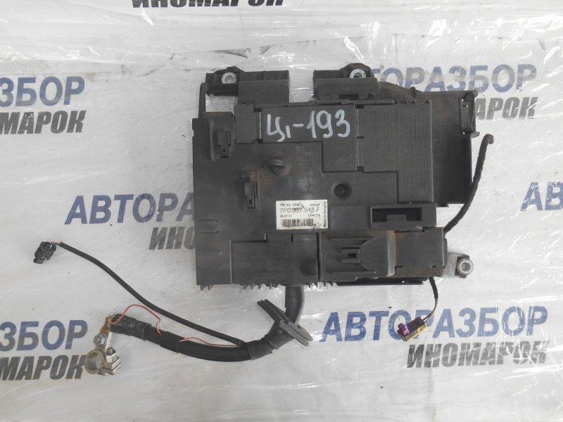 Блок предохранителей, реле Audi Q3 8UB передний (б/у)