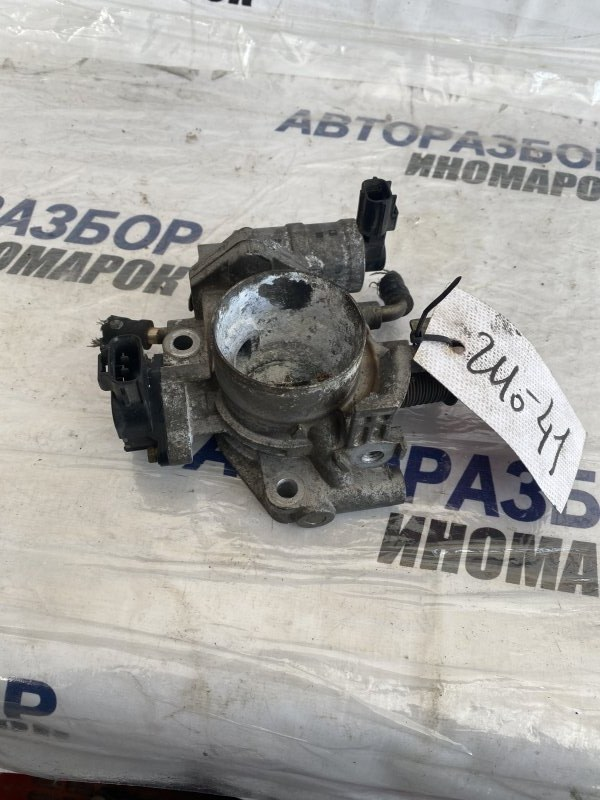 Заслонка дроссельная Mazda Demio DE3AS ZJVE передняя (б/у)
