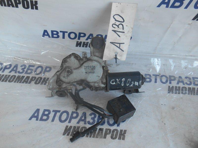 Моторчик заднего дворника Toyota Mark Ii GX81 задний (б/у)