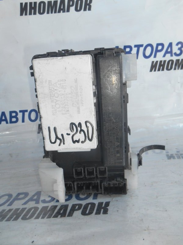 Блок предохранителей, реле Toyota Corolla ZZE132 1ZZFE передний (б/у)