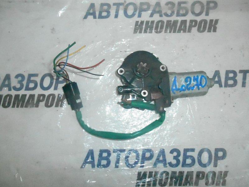 Моторчик стеклоподъемника Toyota Estima ACR30 передний правый (б/у)