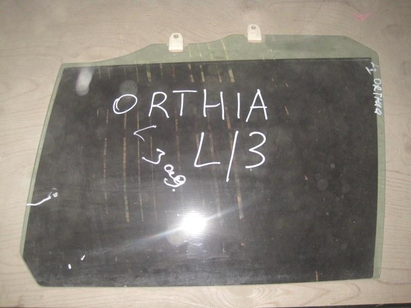 Стекло двери Honda Orthia EL3 заднее левое