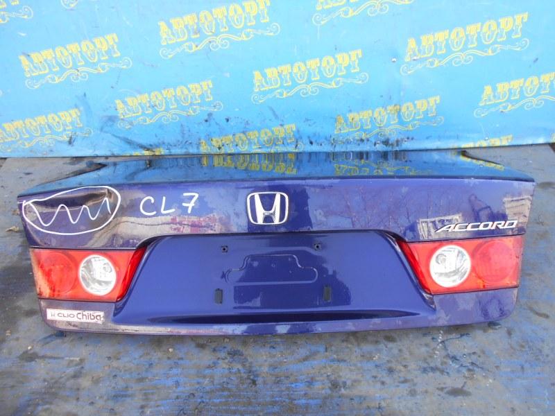 Крышка багажника Honda Accord CL7 K20A