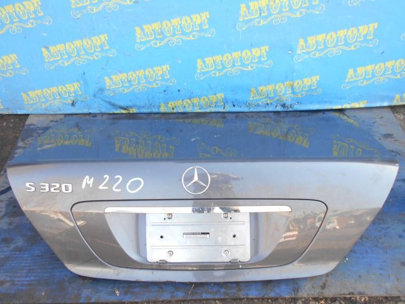 Крышка багажника Mercedes S-Class W220