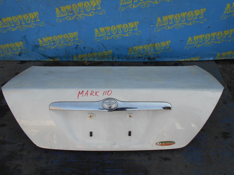 Крышка багажника Toyota Mark Ii JZX110 1JZ