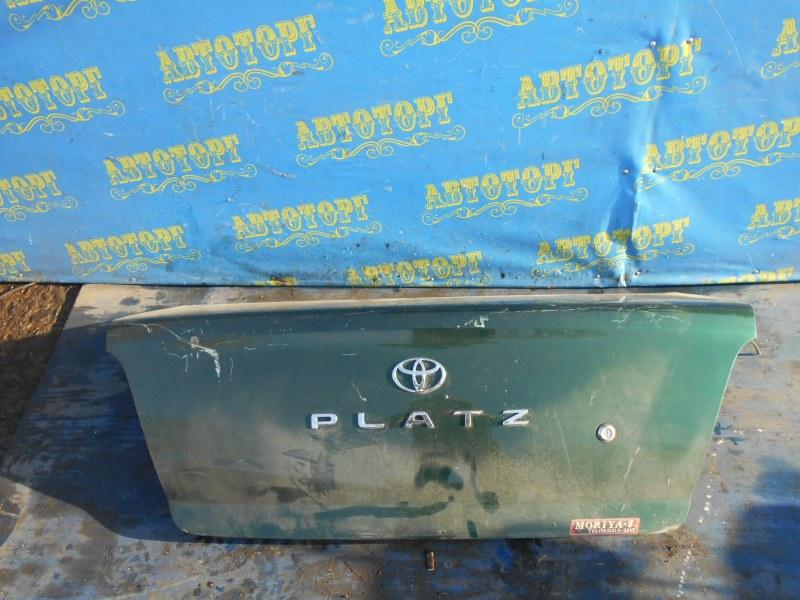 Крышка багажника Toyota Platz NCP12