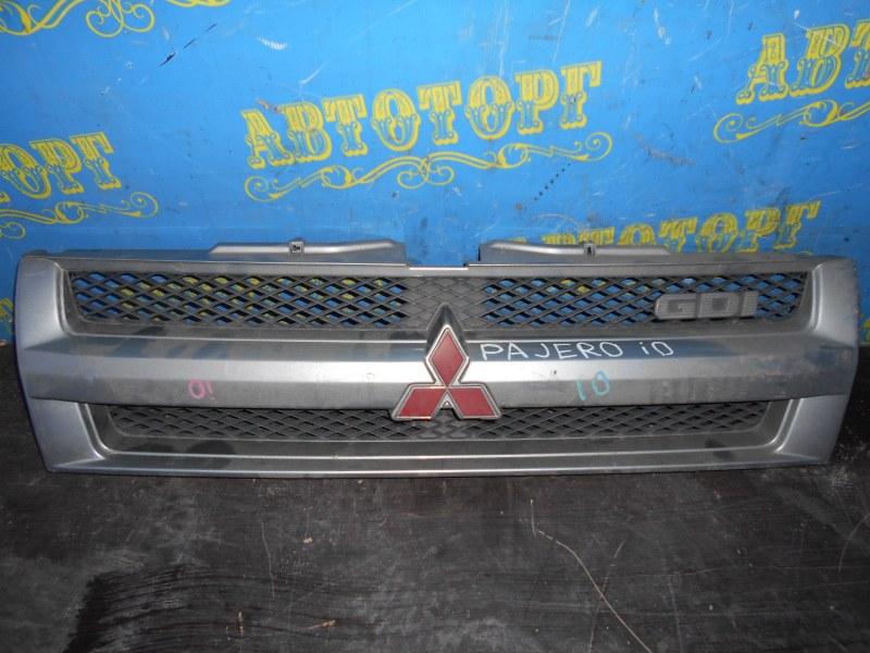 Решетка радиатора паджеро ио