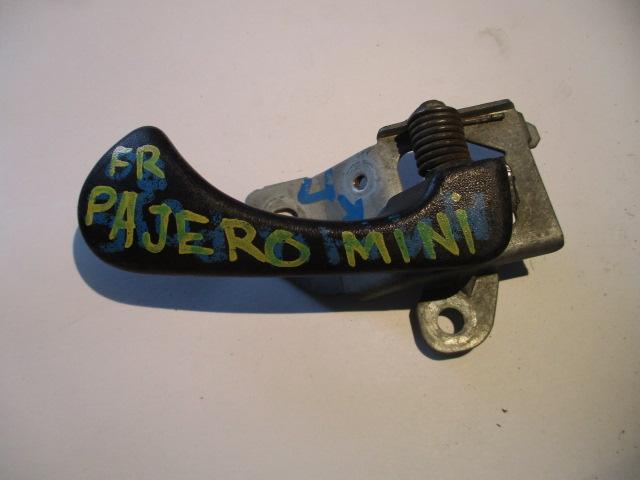 Ручка двери внутренняя Mitsubishi Pajero Mini H51A передняя правая