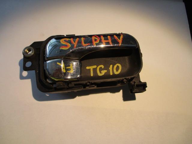 Ручка двери внутренняя Nissan Bluebird Sylphy TG10 передняя правая