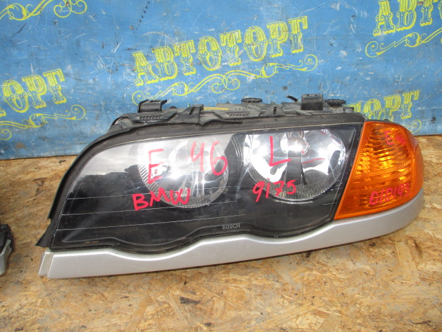 Фара Bmw 3 Series E46 передняя левая