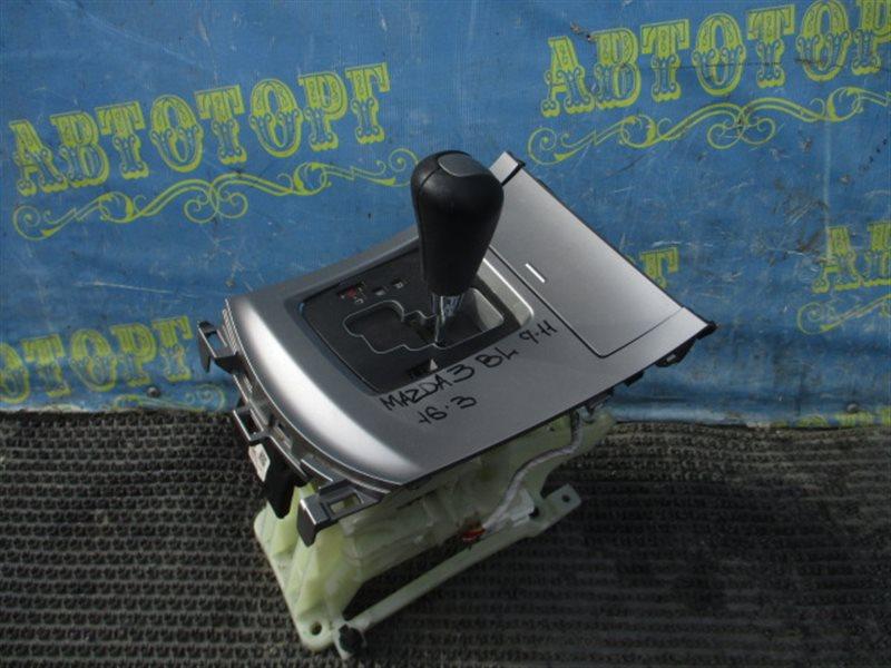 Селектор акпп Mazda 3 BL Z6 2011