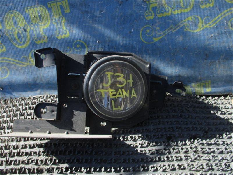Туманка Nissan Teana J31 VQ23 2003 передняя левая