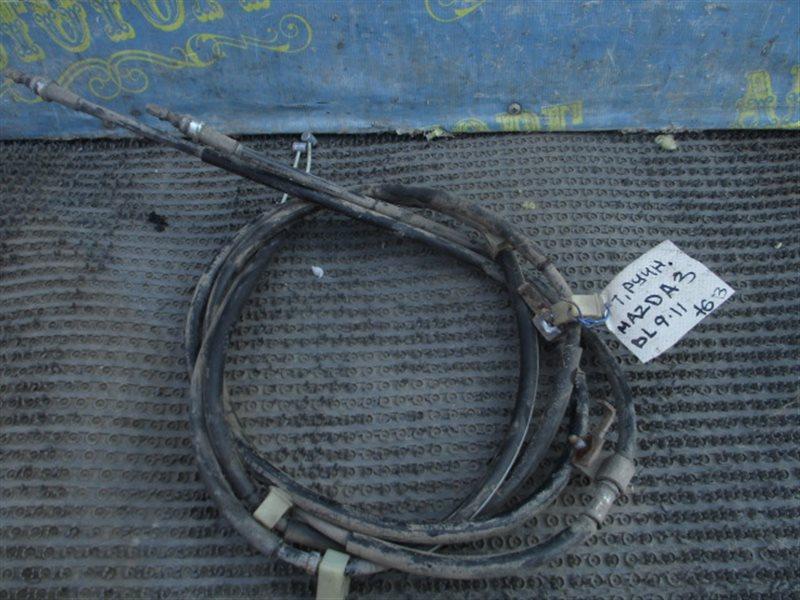 Тросик ручника Mazda 3 BL Z6 2011