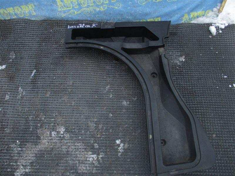 пластик багажника toyota auris
