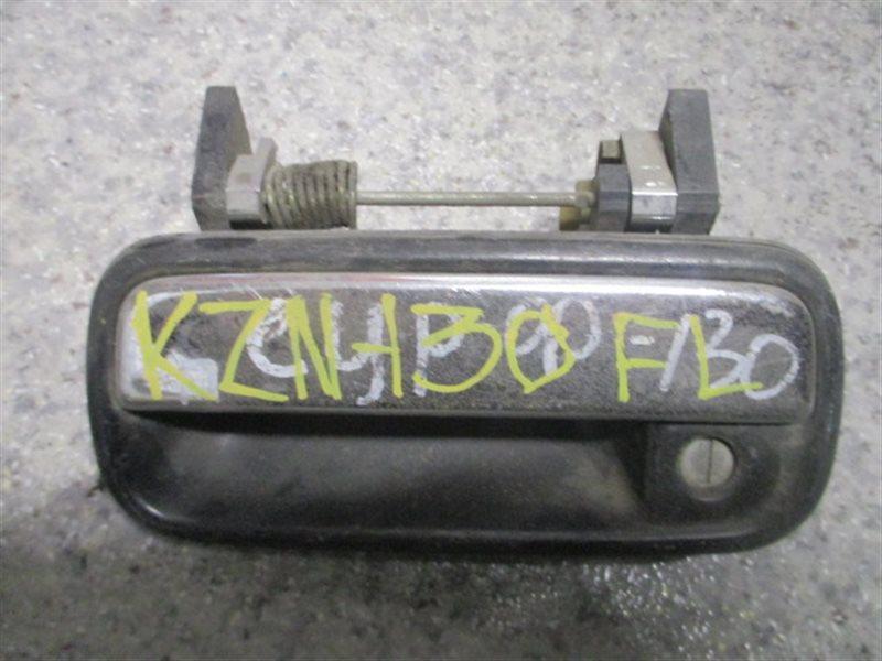 Ручка двери внешняя Toyota Surf KZN130 1KZ передняя левая