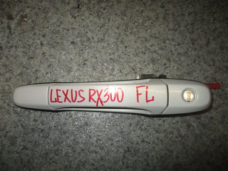 Ручка двери внешняя Lexus Rx300 MCU15 передняя левая