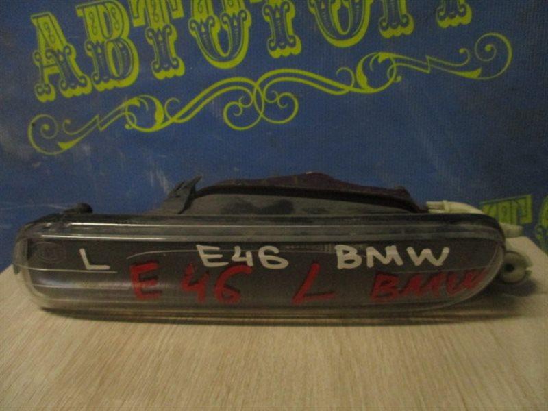 Туманка Bmw 3 Series E46 левая