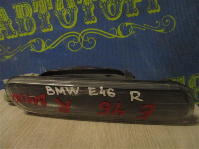 Туманка Bmw 3 Series E46 правая