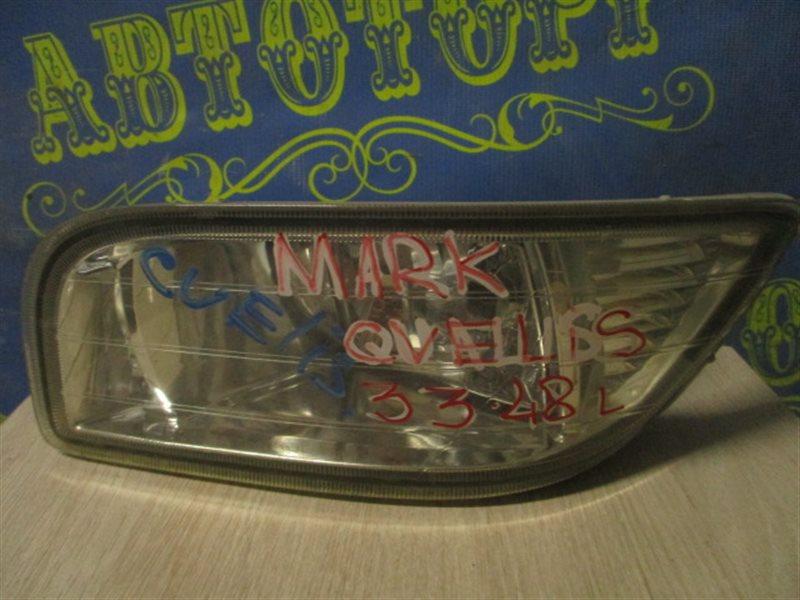 Туманка Toyota Mark Ii Wagon Qualis MCV21 передняя левая