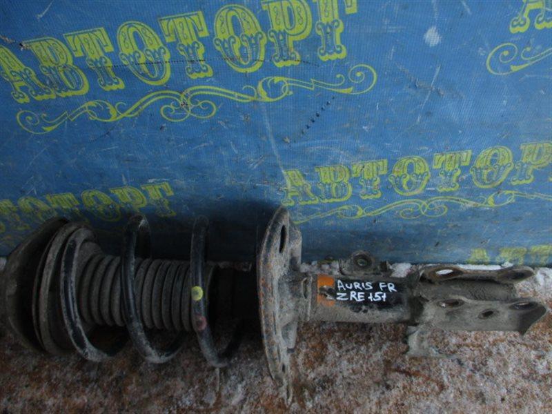 Стойка Toyota Auris ZRE151L 1ZR 2008 передняя правая