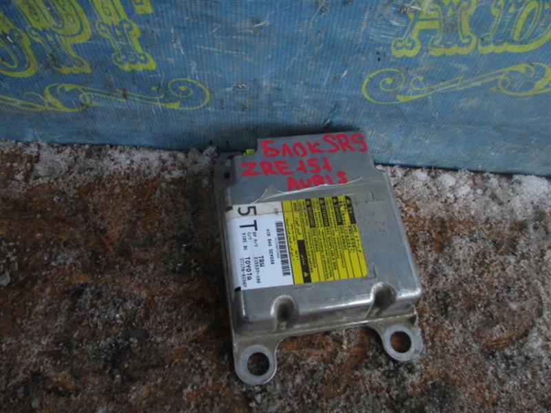 Блок управления airbag Toyota Auris ZRE151L 1ZR 2008