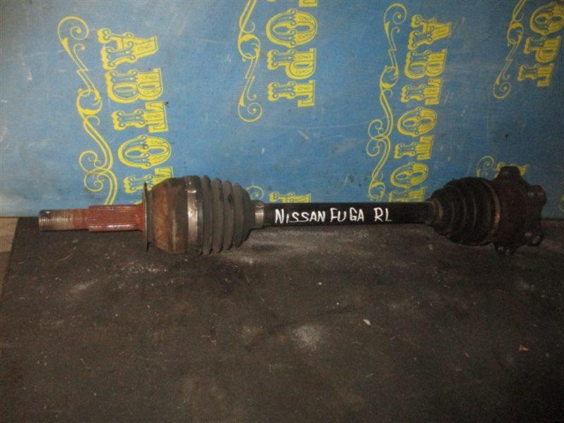 Привод Nissan Fuga PY50 задний левый