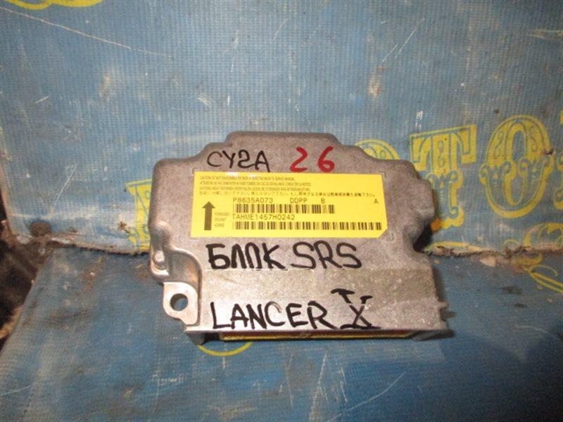 Блок управления airbag Mitsubishi Lancer X CY2A 4A91 2008