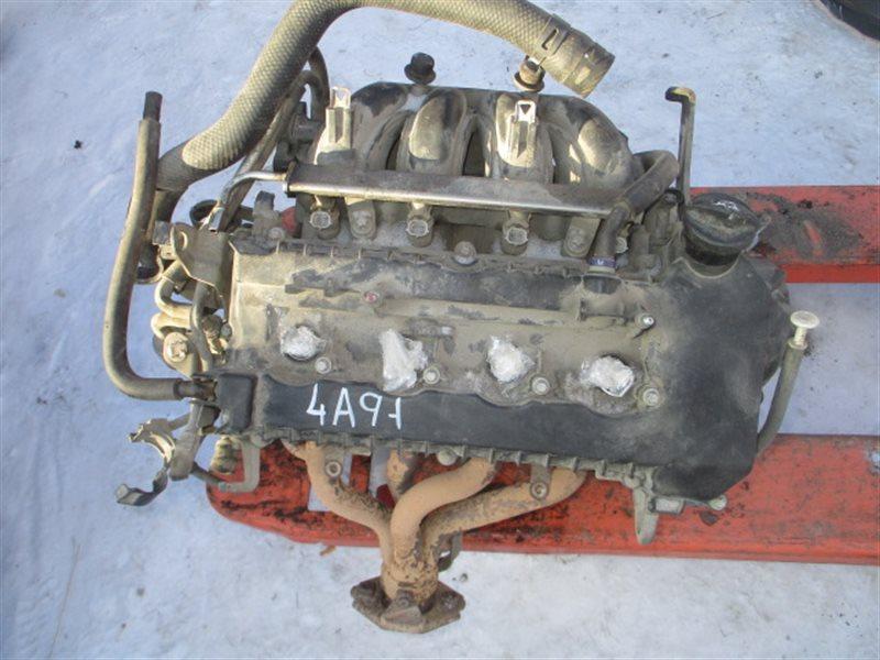 Двигатель Mitsubishi Lancer X CY2A 4A91 2008
