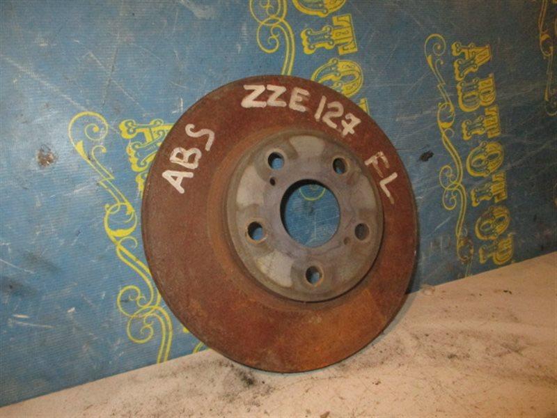 Тормозной диск Toyota Will ZZE127 передний
