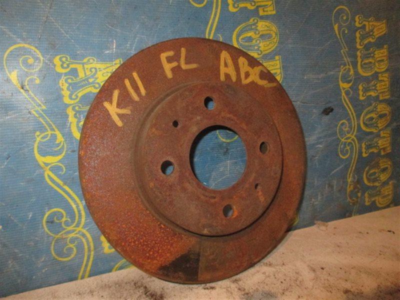 Тормозной диск Nissan March K11 передний