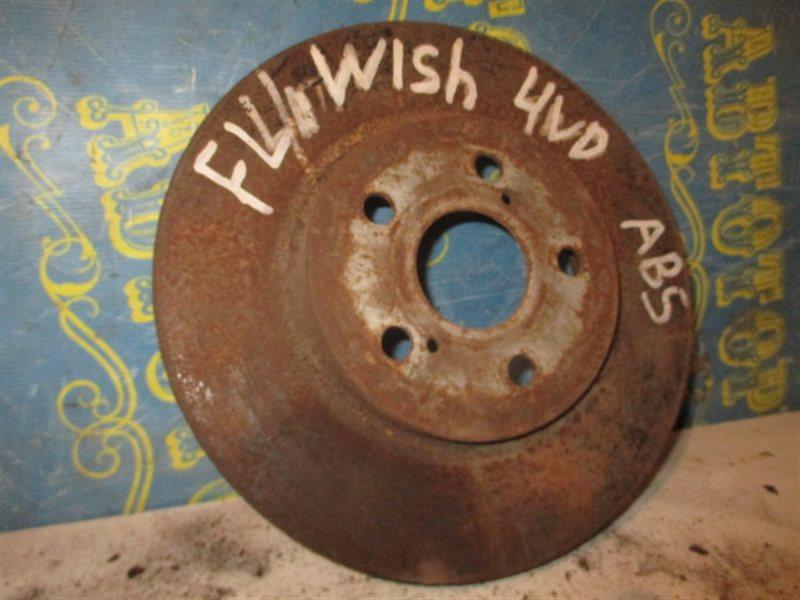 Тормозной диск Toyota Wish ZNE14 передний