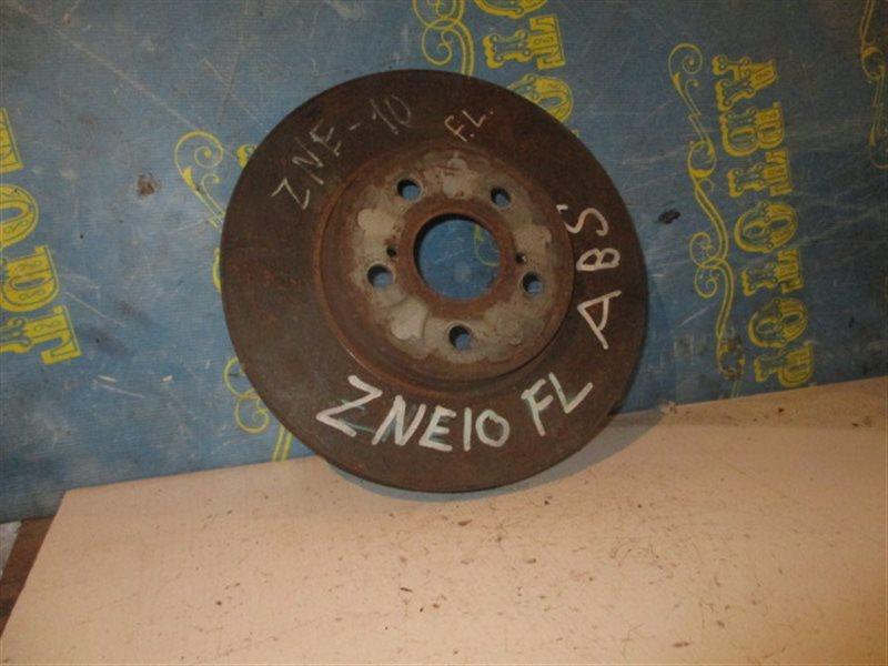 Тормозной диск Toyota Wish ZNE10 передний