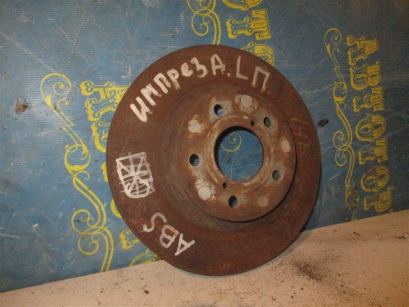 Тормозной диск Subaru Impreza GF1 передний