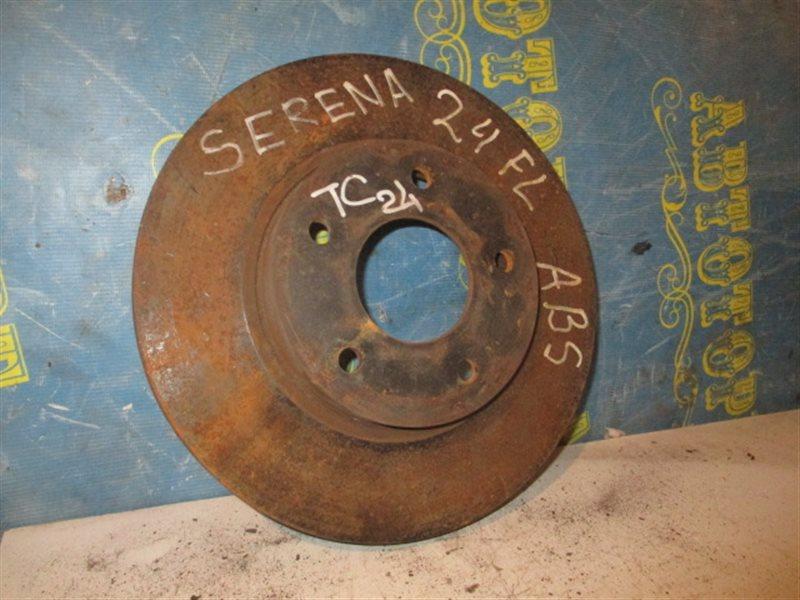 Тормозной диск Nissan Serena TC24 передний