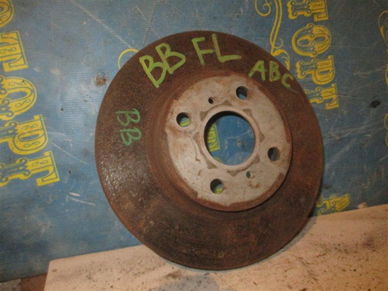 Тормозной диск Toyota Bb NCP31 передний