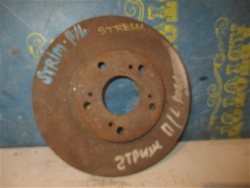 Тормозной диск Honda Stream RN1 передний