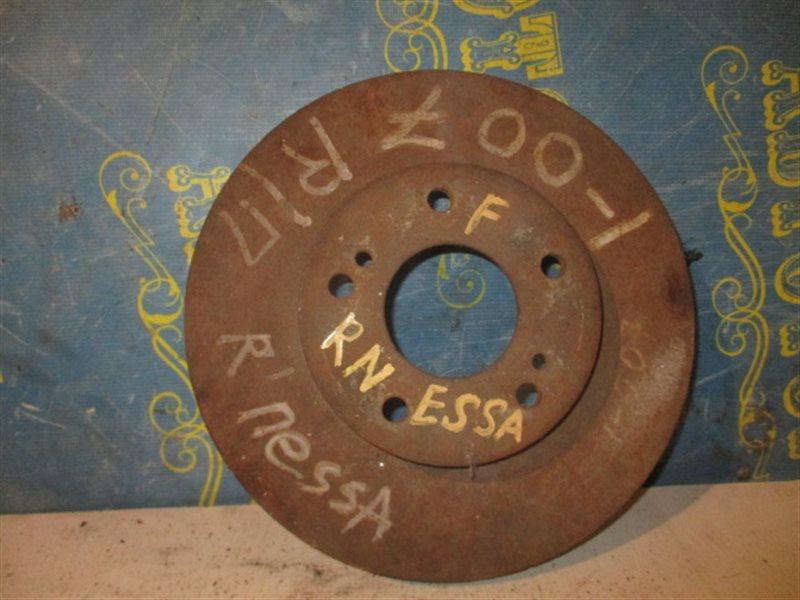 Тормозной диск Nissan Rnessa N30 передний