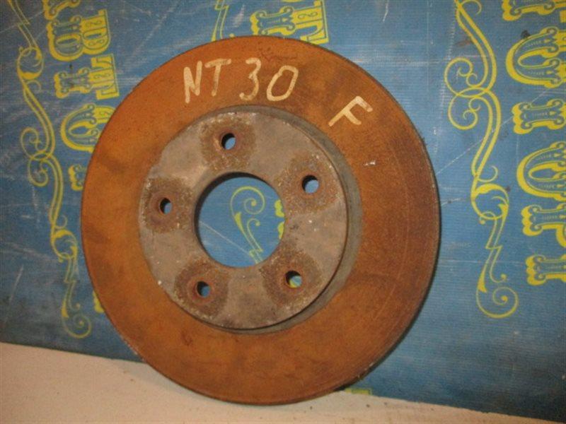 Тормозной диск Nissan Xtrail NT30 QR20 2001 передний