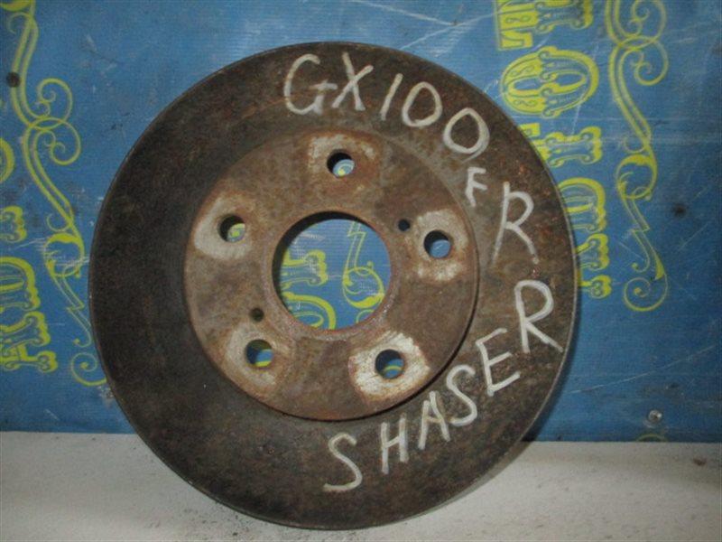 Тормозной диск Toyota Chaser GX100 передний