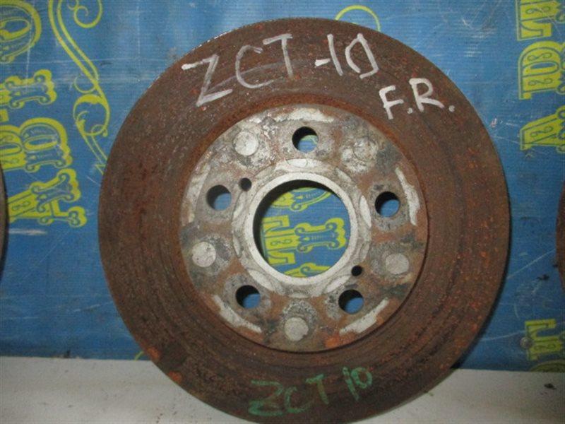 Тормозной диск Toyota Opa ZCT10 1ZZ передний