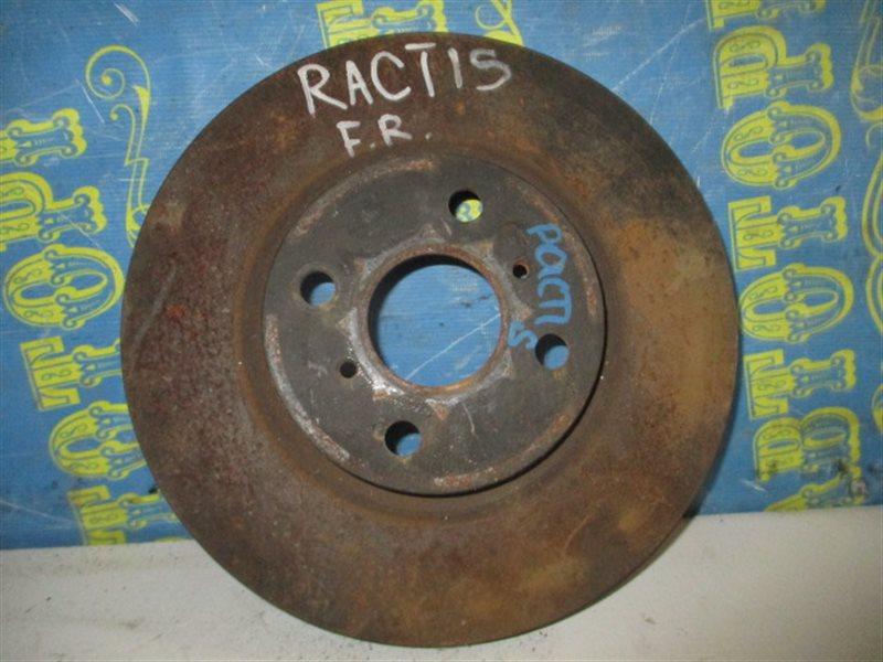 Тормозной диск Toyota Ractis NCP100 передний