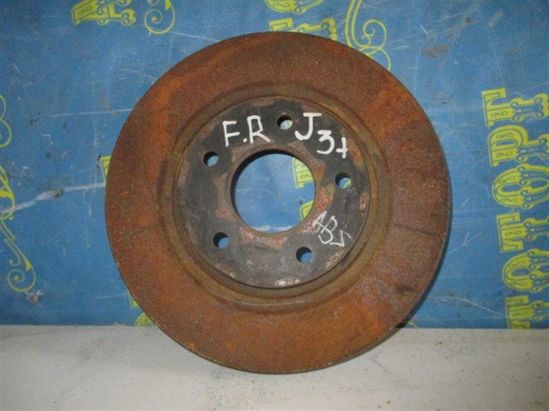 Тормозной диск Nissan Teana J31 передний