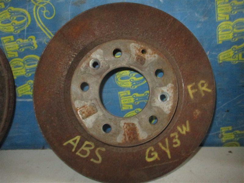 Тормозной диск Mazda Atenza GY3W передний