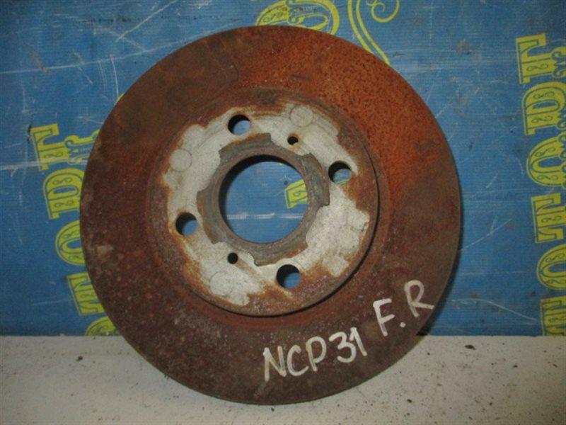 Тормозной диск Toyota Bb NCP31 1NZ передний