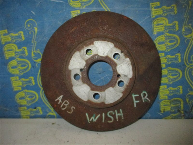 Тормозной диск Toyota Wish ZNE10 1ZZ передний
