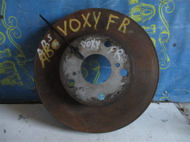 Тормозной диск Toyota Voxy AZR65 1AZ передний