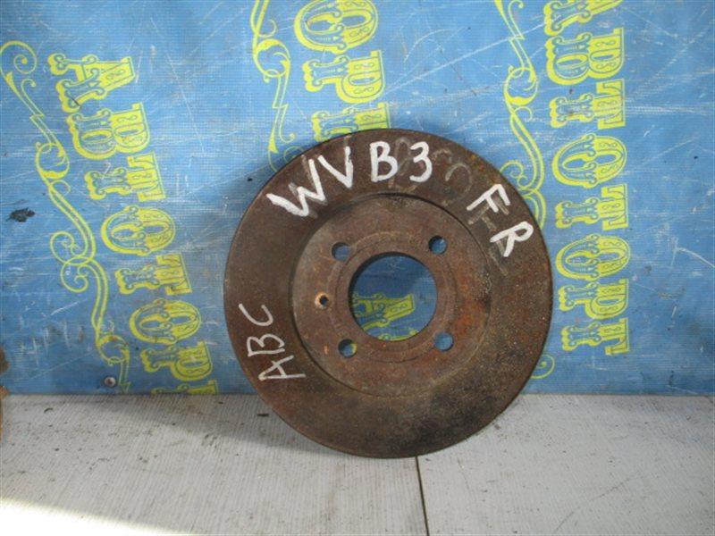 Тормозной диск Volkswagen Passat B3 передний